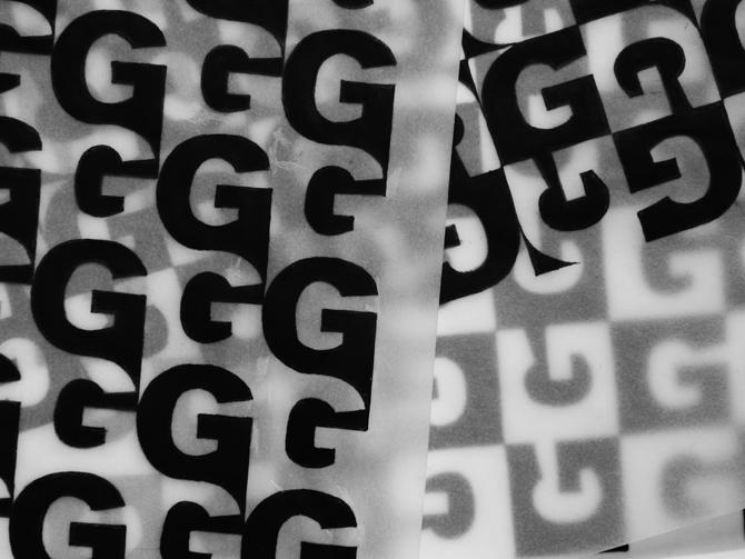 Typographic Patterns Anushree Kapoor