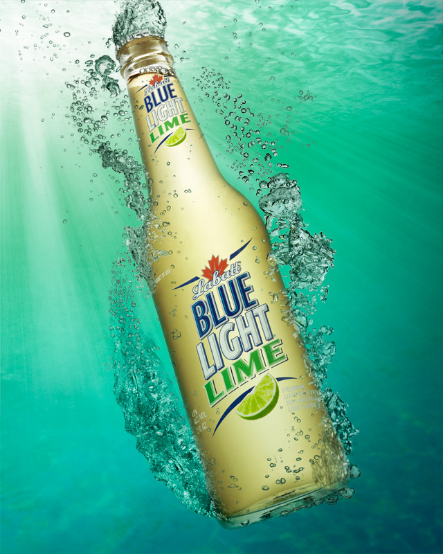 This Blue Light Lime Beer Image Reminds Me Of My Longing For Summer. What  Is Not Good About A Blue Ocean And Cold Beer With Lime Taste?